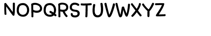 DS RefinedLetter Bold Font UPPERCASE