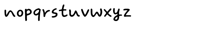 DS SweetKiss Medium Font LOWERCASE