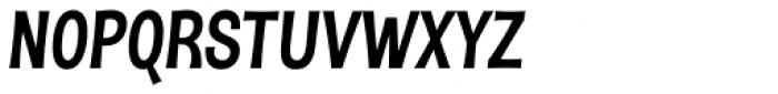 DSert Heavy Italic Font UPPERCASE