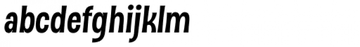 DSert Heavy Italic Font LOWERCASE