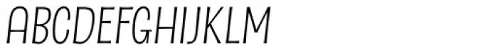 Dsert Alt Light Italic Font UPPERCASE