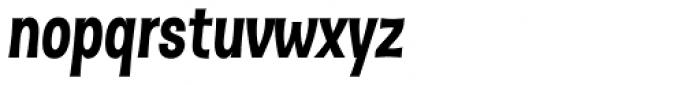 Dsert Black Italic Font LOWERCASE