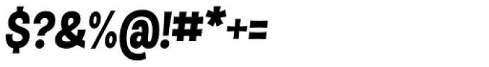 Dsert UltraBlack Italic Font OTHER CHARS