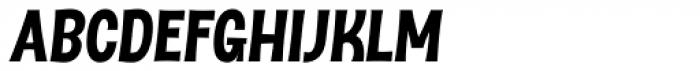 Dsert UltraBlack Italic Font UPPERCASE