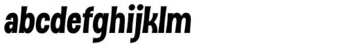 Dsert UltraBlack Italic Font LOWERCASE