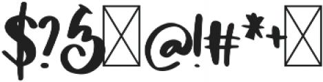 DTC Alexandra Regular otf (400) Font OTHER CHARS