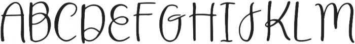 DTC Aspyn Regular otf (400) Font UPPERCASE