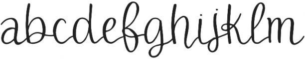 DTC Aspyn Regular otf (400) Font LOWERCASE
