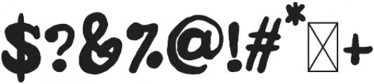 DTC Cozy Regular otf (400) Font OTHER CHARS