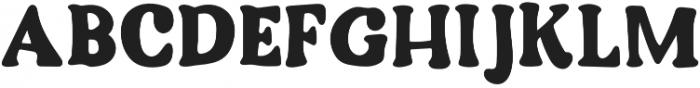 DTC Cozy Regular otf (400) Font UPPERCASE