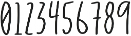 DTC Evergreen Regular otf (400) Font OTHER CHARS