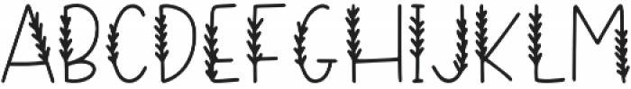 DTC Evergreen Regular otf (400) Font LOWERCASE