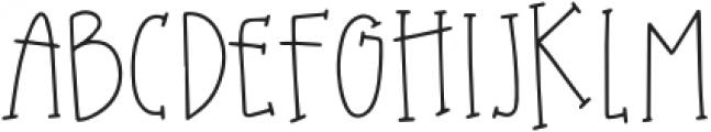 DTC Harvest Moon Regular otf (400) Font UPPERCASE