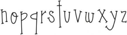 DTC Harvest Moon Regular otf (400) Font LOWERCASE
