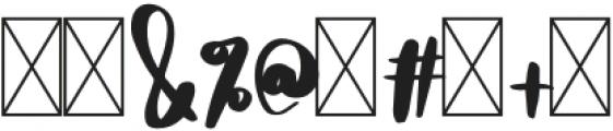 DTC HoneyBee Regular otf (400) Font OTHER CHARS