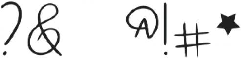 DTC Raspberry Sans Regular otf (400) Font OTHER CHARS