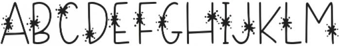 DTC Snowflake Regular otf (400) Font LOWERCASE