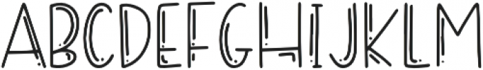 DTC Sugar Cookie Regular otf (400) Font LOWERCASE