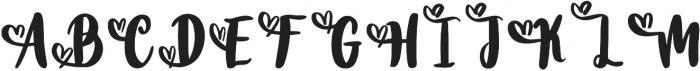 DTC Valentine Solid Alternates otf (400) Font UPPERCASE