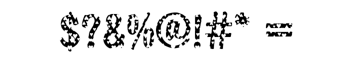 DTCBrodyM33 Font OTHER CHARS
