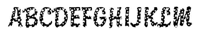 DTCBrodyM33 Font UPPERCASE
