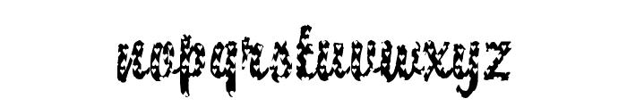 DTCBrodyM33 Font LOWERCASE