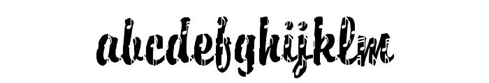 DTCBrodyM37 Font LOWERCASE