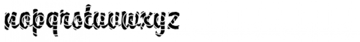 DTC Brody M25 Font LOWERCASE