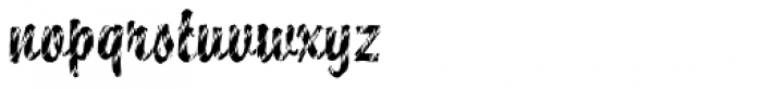 DTC Brody M27 Font LOWERCASE
