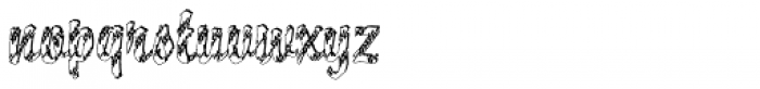 DTC Brody M28 Font LOWERCASE