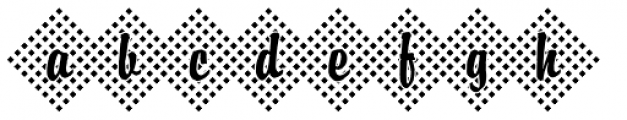 DTC Brody M45 Font LOWERCASE