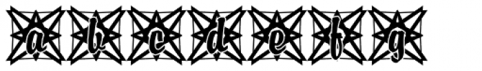 DTC Brody M49 Font LOWERCASE