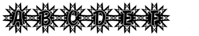 DTC Brody M50 Font UPPERCASE