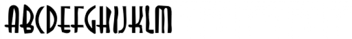 DTC Dirty M04 Font UPPERCASE