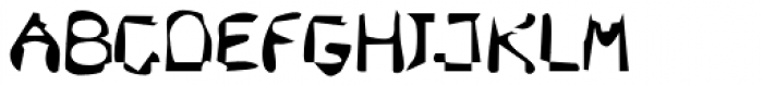 DTC Dirty M47 Font LOWERCASE