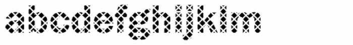 DTC Franklin Gothic M14 Font LOWERCASE