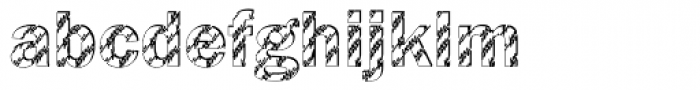 DTC Franklin Gothic M28 Font LOWERCASE