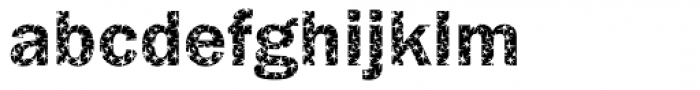 DTC Franklin Gothic M31 Font LOWERCASE