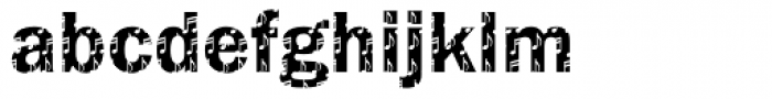DTC Franklin Gothic M37 Font LOWERCASE