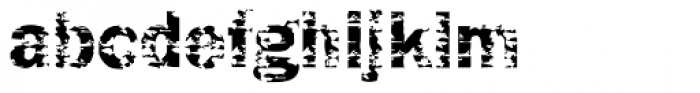 DTC Funky M04 Font LOWERCASE