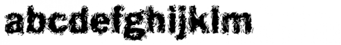 DTC Funky M16 Font LOWERCASE