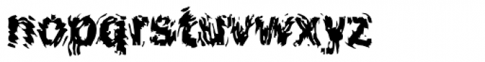 DTC Funky M19 Font LOWERCASE