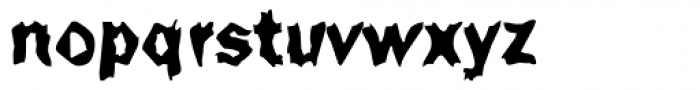 DTC Funky M50 Font LOWERCASE