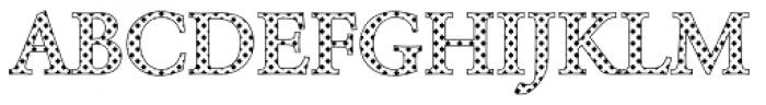 DTC Garamond M08 Font UPPERCASE