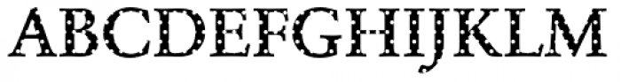 DTC Garamond M15 Font UPPERCASE