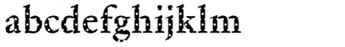 DTC Garamond M15 Font LOWERCASE