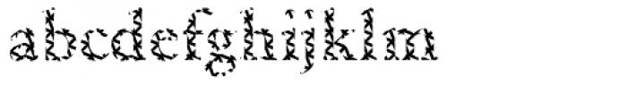 DTC Garamond M16 Font LOWERCASE