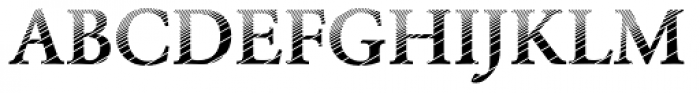 DTC Garamond M20 Font UPPERCASE