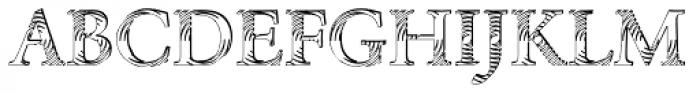 DTC Garamond M24 Font UPPERCASE