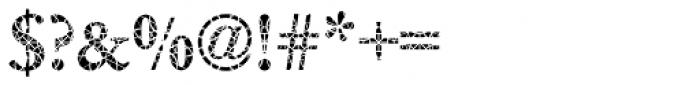 DTC Garamond M30 Font OTHER CHARS